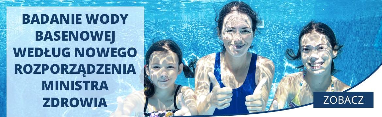 Badanie wody basenowej według nowego Rozporządzenia Ministra Zdrowia