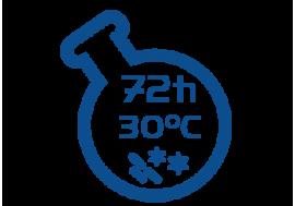 Liczba drobnoustrojów w 30oC po 72h