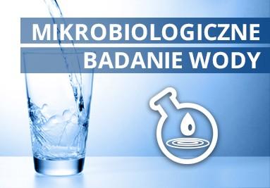 Mikrobiologiczne badanie wody